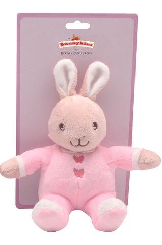 *Bunnykins Plush Toy Pink