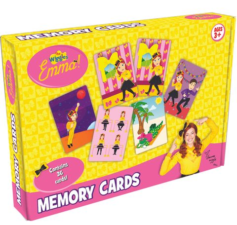 The Wiggles Emma Memory Cards