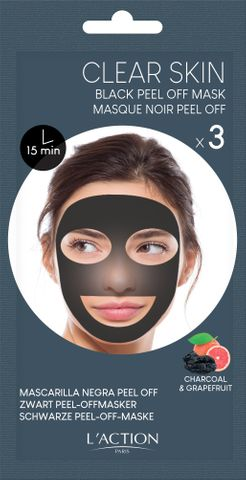 L'Action Black Peel Off Mask