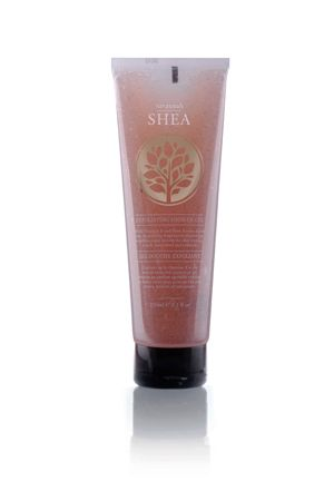 African Skincare Shea 250ml Exfoliating Shower Gel