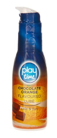 Play Time Chocolate Orange Flavoured Lube 75ml