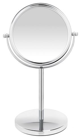 BodySense Tall Pedestal Chrome Mirror 10x Magnification