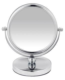 BodySense Low Round Salon Mirror 10x Magnification