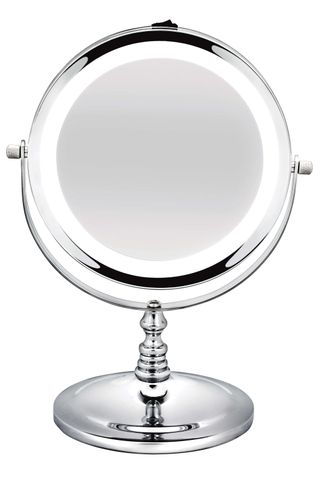 *Bodysense Short Round Salon Mirror LED