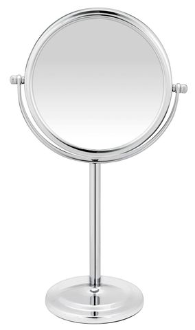 Bodysense Tall Pedestal Chrome Mirror
