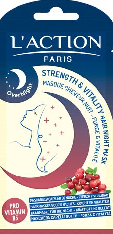 L'Action Strength & Vitality Hair Night Mask