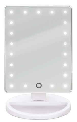 Bodysense Glitz Mirror With Storage Base LED