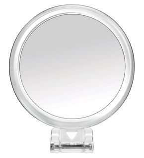 BodySense Travel Mirror With Handle 5x Magnification