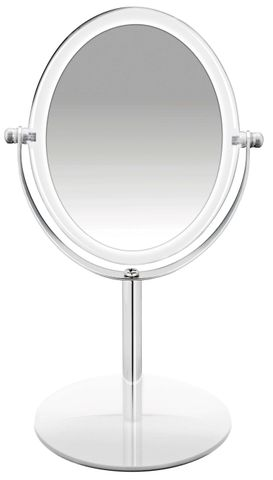BodySense Acrylic Pedestal Mirror  2x Magnification