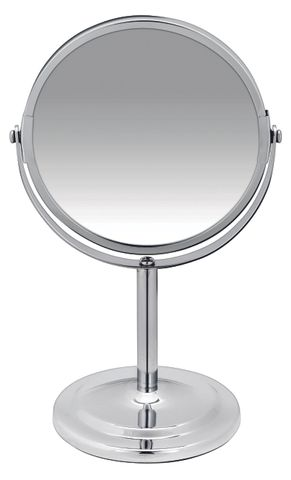 BodySense Short Round Salon Mirror 7x Magnification
