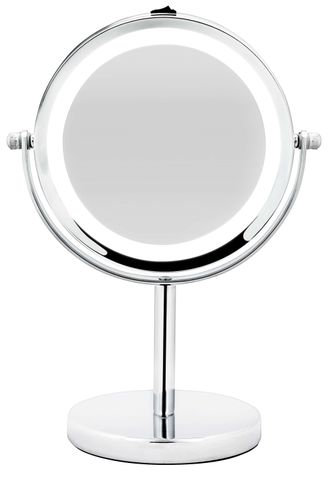 Bodysense Pedestal Chrome Mirror LED