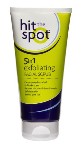 Hit The Spot 5 In 1 Exfoliating Facial Scrub 150ml