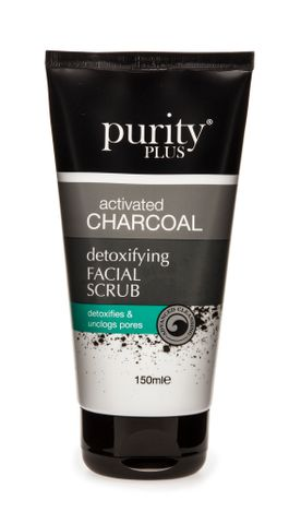 Purity Plus Activated Charcoal Face Scrub 150ml