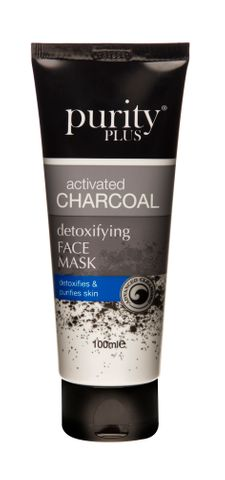 Purity Plus Activated Charcoal Face Mask 100ml