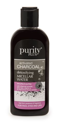 Purity Plus Activated Charcoal Micellar Water 200ml