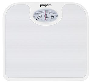 Propert Weight Checker Mech Bathroom Scale 130kg