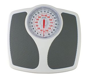 Propert Speedometer Dial Mechanical Bathroom Scale 150kg