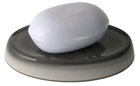 Creative Home Soap Dish Oval Grey