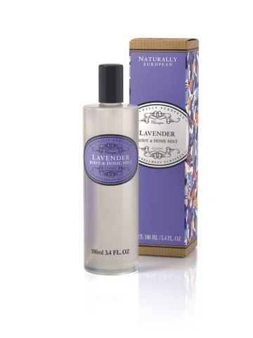 Naturally European Body Mist & Home Spray Lavender 100ml