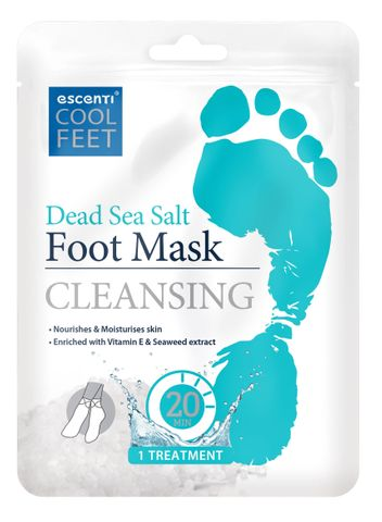 Escenti Dead Sea Salt Foot Mask