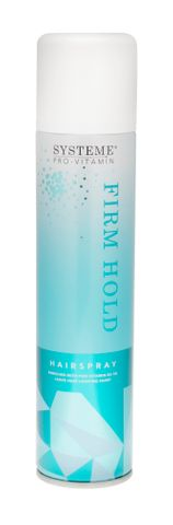 Systeme Firm Hold Hair Spray
