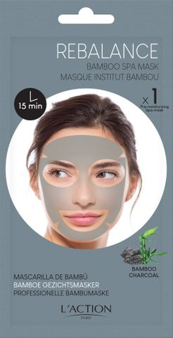 L'Action Bamboo Charcoal Face Mask