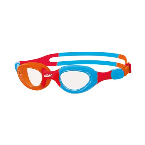Little Super Seal Orange/Blue/Red/Clear Goggle