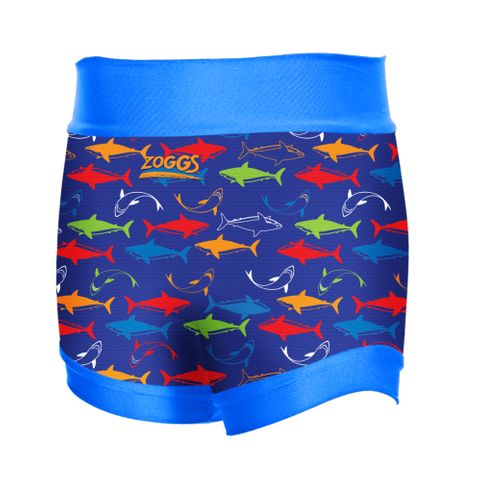 Shark Haze Swim Sure Nappy Multi Blue XL