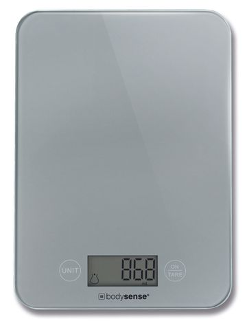Bodysense Kitchen Scale Silver 5kg