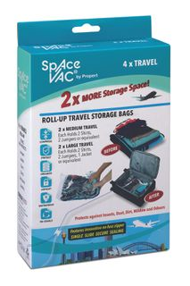 Space Vac Travel 4 Pack