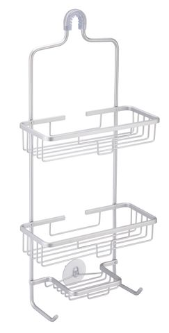 Shower Caddy 3 Tier Aluminium