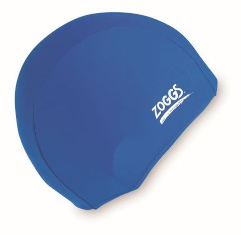 Standard Latex Swim Cap Royal Blue