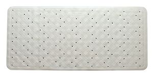 Rubber Bath Mat White