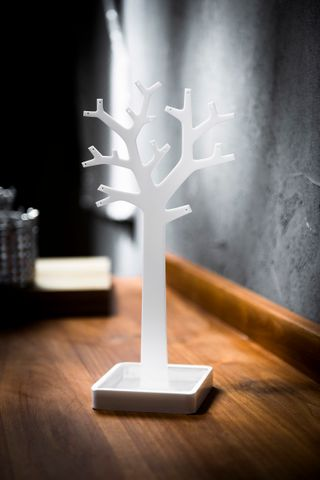 Tree Jewellery Holder White