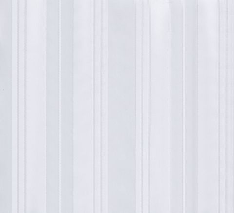 *Jacquard Box Stripe Shower Curtain White