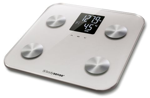 Bodysense Body Analysis Scale Silver 200kg