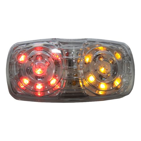 Ap01Ra Led Clearance Red/Amber 1O Led Mu