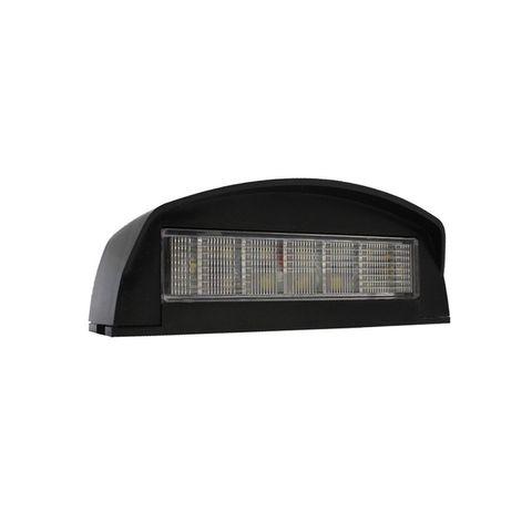 Ap84M Led License Plate Lamp Black 12 Le