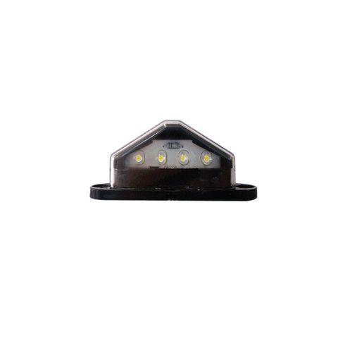 Ap45M Led License Plate Lamp Black 4 Led
