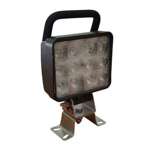 AP161 LED WORKLAMP SQ HANDLE 36W 10-30V