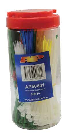 Cable Tie Kit 650Pc