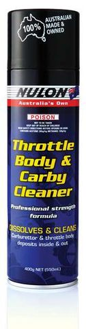 CARBY THROTTLE BODY CLEANER 400 GM AERO