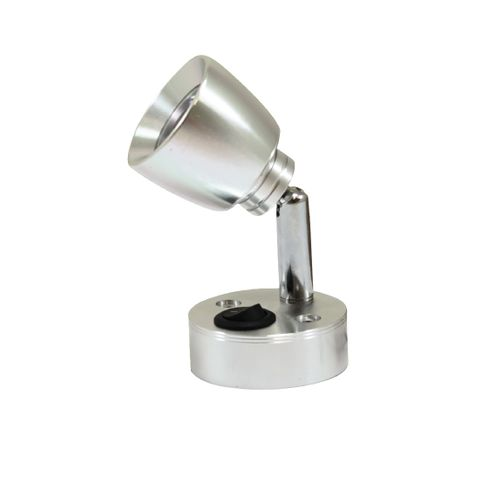 Led Lamp Reading Switched Aluminium 240L