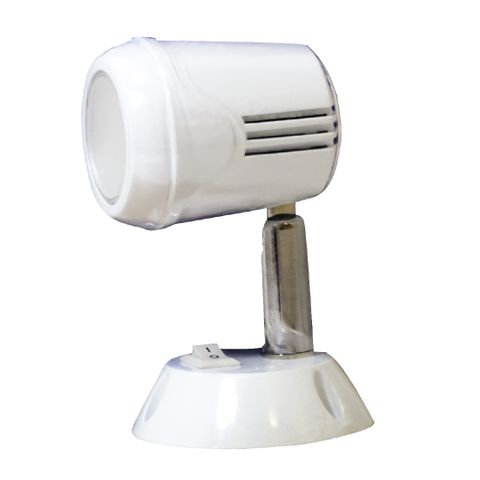 Led Lamp Reading Switched White Plastic