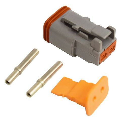 Replacement Deutsch Plug 2 Pin Male