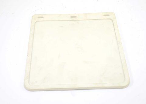 Mudflap plain 230x250mm White