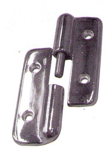 Hinge chrome s/s Pin L/H