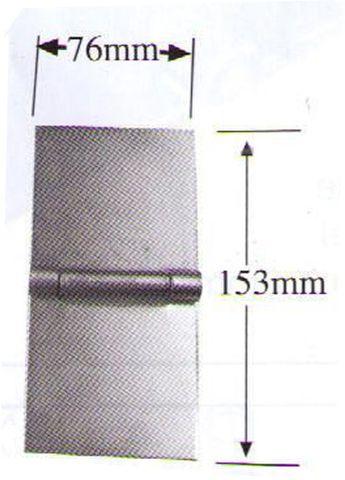 Hinge Flap Brass Pin