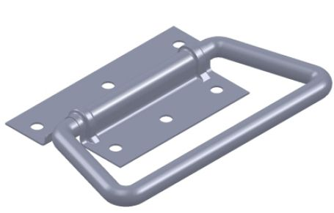 Door handle s/s