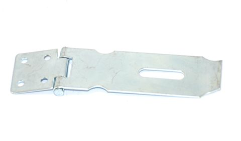 Hasp & staple safety type z/p 100mm
